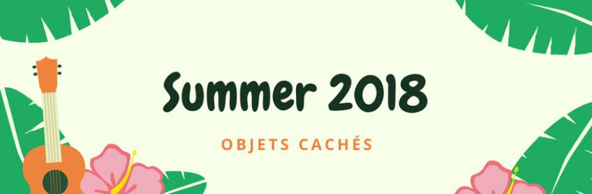 [Summer 2018] Scène d'objets cachés
